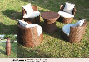 Space Saver Patio Furniture , JHA-081