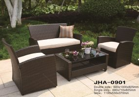 Delima Dismentable Wicker Sofa Set , JHA-0901