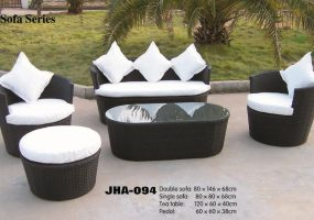 Sunperry Rattan Sofa Set , JHA-094