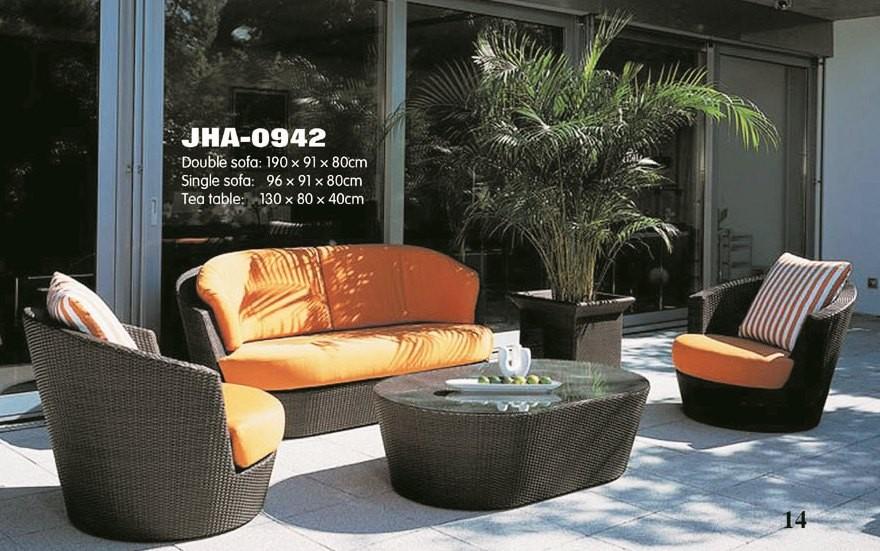 Saffron Wicker sofa Set