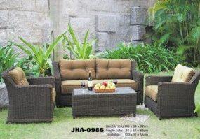 Royal Rattan Sofa Set , JHA-0986