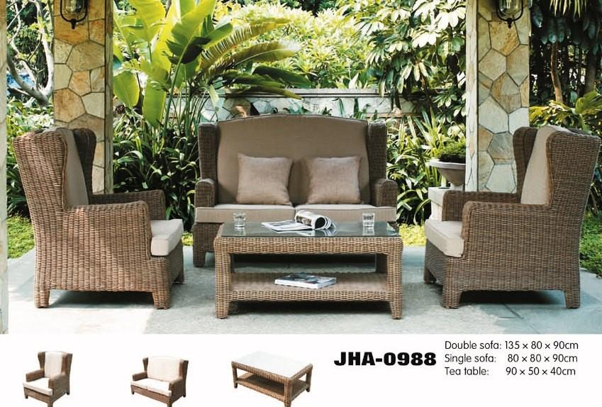 Patio Leisure Classic Rattan Sofa Set