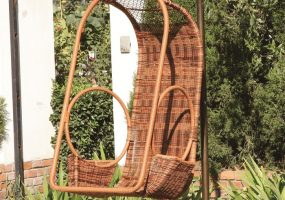 Wicker Patio Swing,  JHA-178A