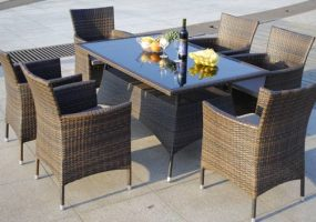 Wicker Dining Furnitures , JHA-028B