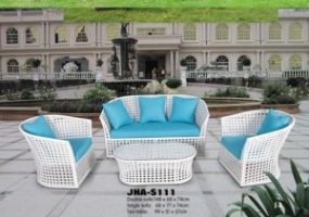 Sunperry Modern Wicker Sofa Set , JHA-S111
