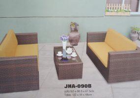 Pamela Wicker Sofa Set  , JHA-090B