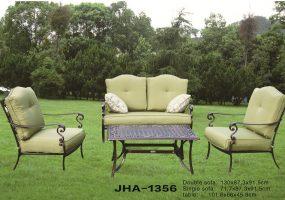 Victron Cast Iron Sofa Set , JHA-1356