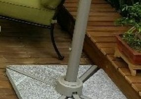 Umbrella Base Marble Stone