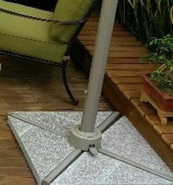 Umbrella Base Marble Stone