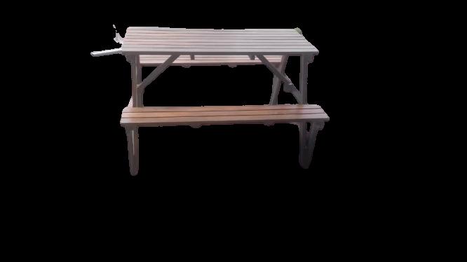 decon teak wood bench