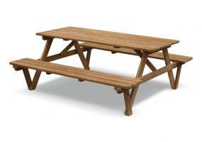 Teak Wood Picnic Bench, HC-152