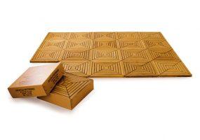 Teak Wood Deck Tiles  HC-162A, HC-162B