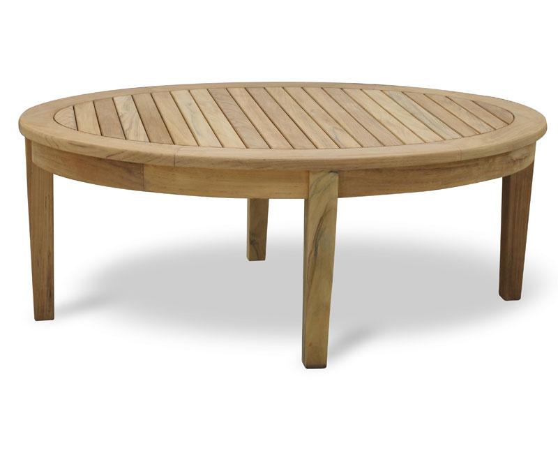 Aria Oval Teak wood Coffee Table