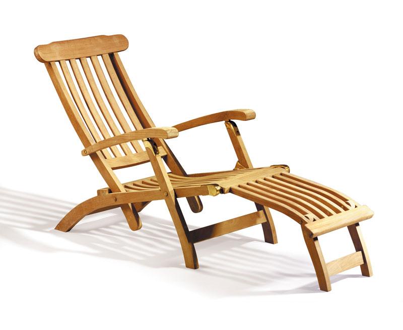 Steamer Teak wood Arm chair