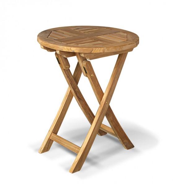 teak wood round table