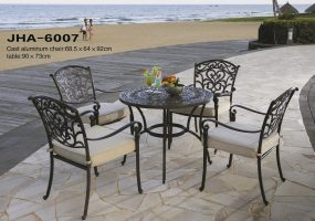 Leisure Patio Cast Aluminum Dining Set , JHA-6007
