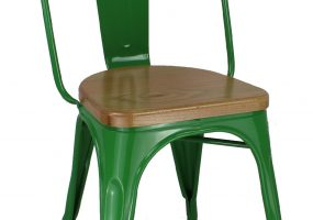 Cafe Metal Chair, CF-1027C-W