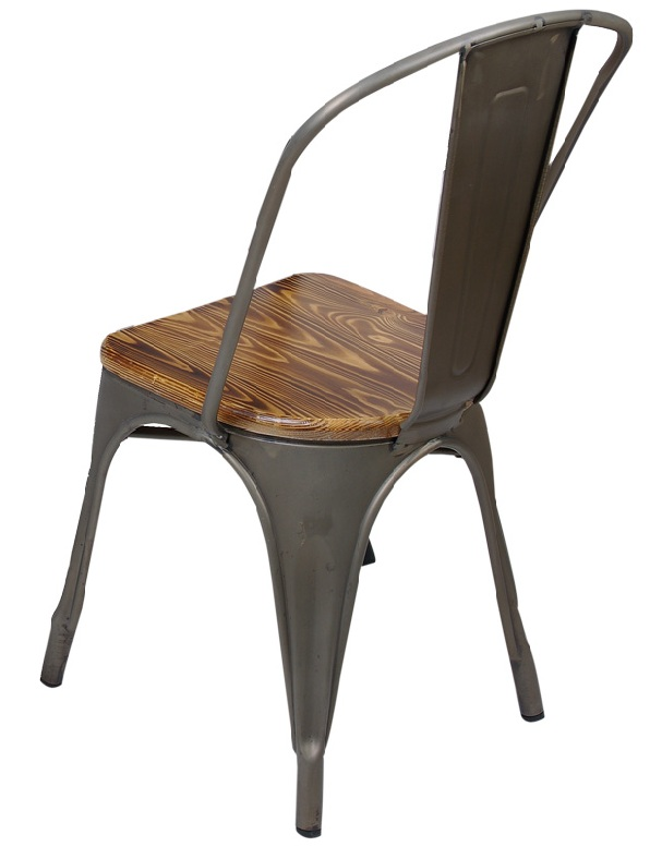 metal chair for cafe