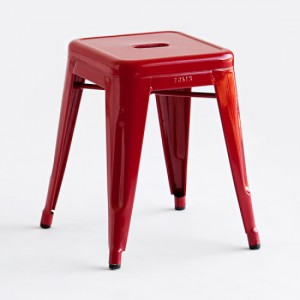 Metal stool , comes with many colours