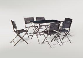 Folding Patio Dining Set ,  JHA-1044