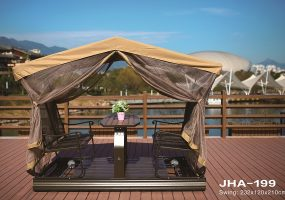 Swing Double Chairs With Canopy ,  JHA-199