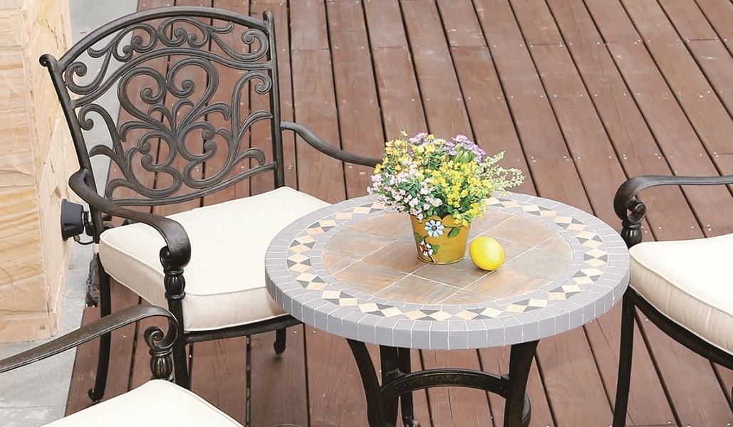 Cast Aluminum dining set
