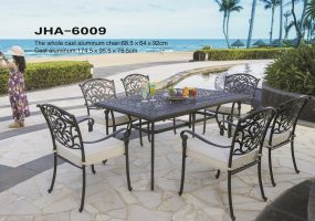 Cast Aluminum Dining Furniture , JHA-6009