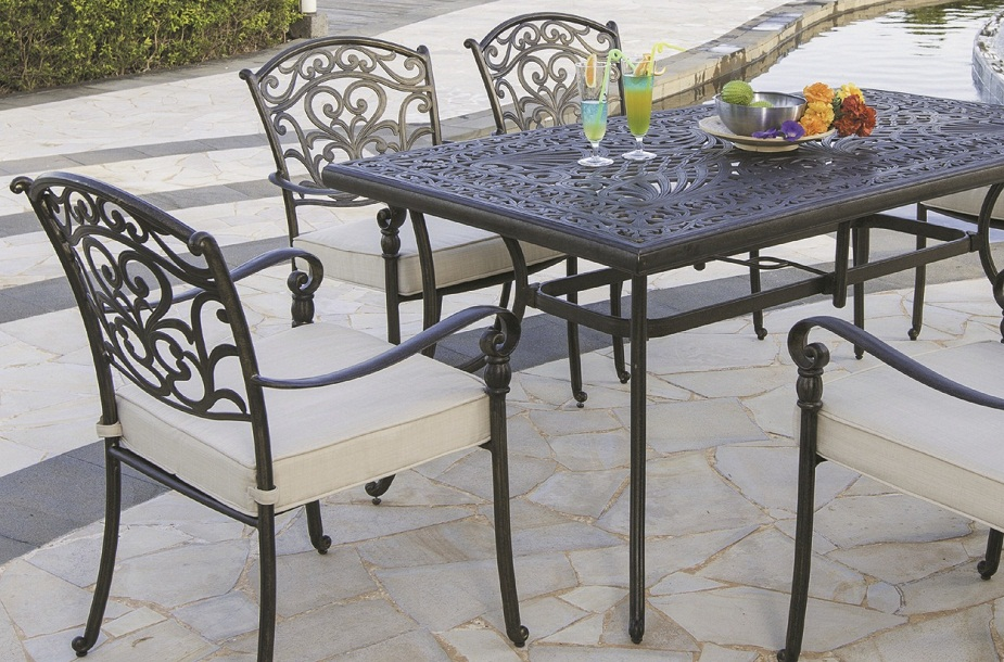 JHA-6009, Cast Aluminum Set for beach