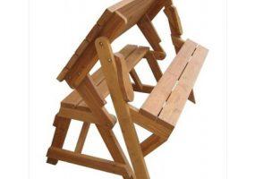 Casa Bella Teak Wood Garden Magic Bench, JD-152A