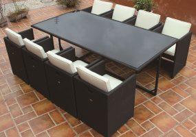 Outdoor Rattan Dining Set ,  JHA-S118B