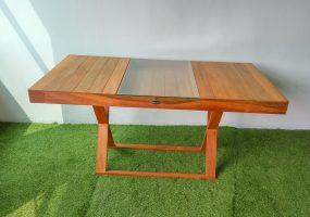Wood Cafe Table Balau , KTS-06