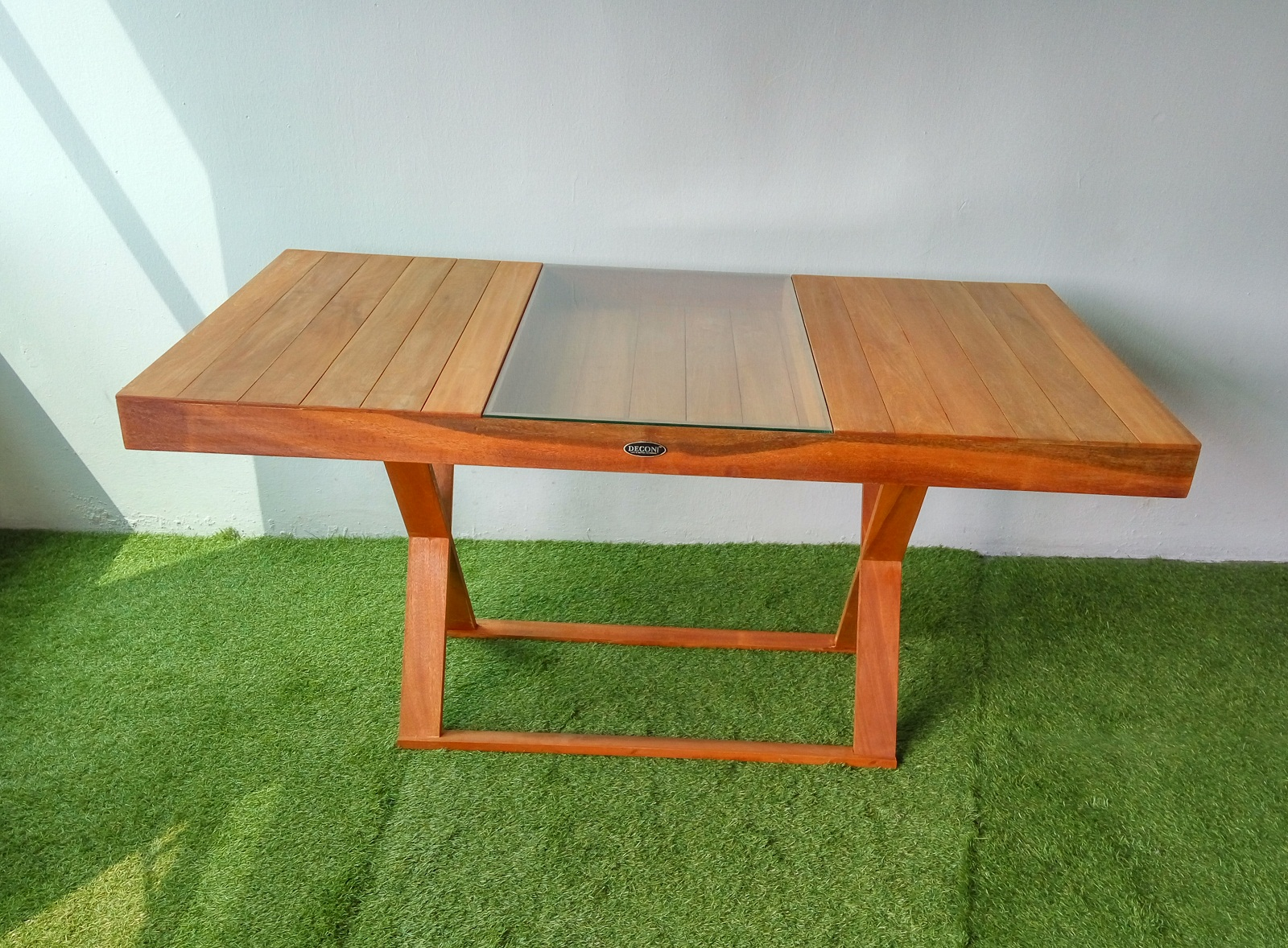 Wood Cafe Table Balau , Balau Wooden Furniture, Cafe Table ...