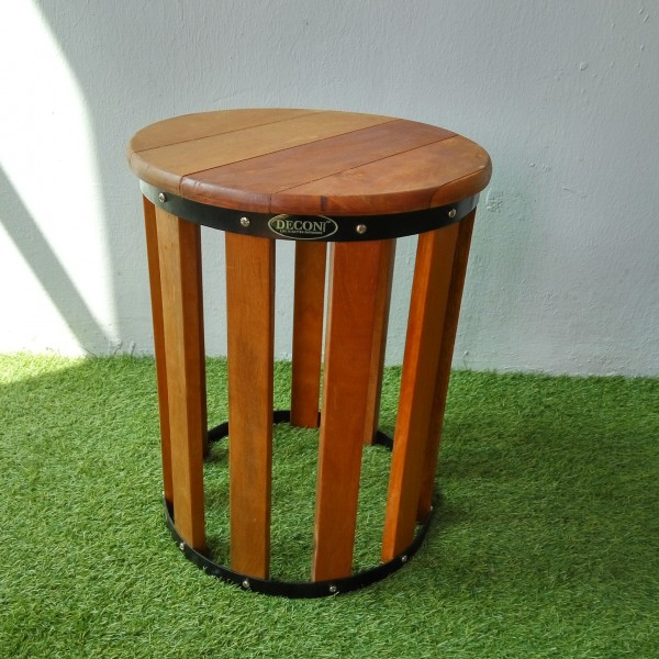 Balau Wooden Stool