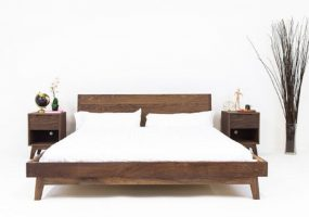 Teak Wood Bed Set , JF-201