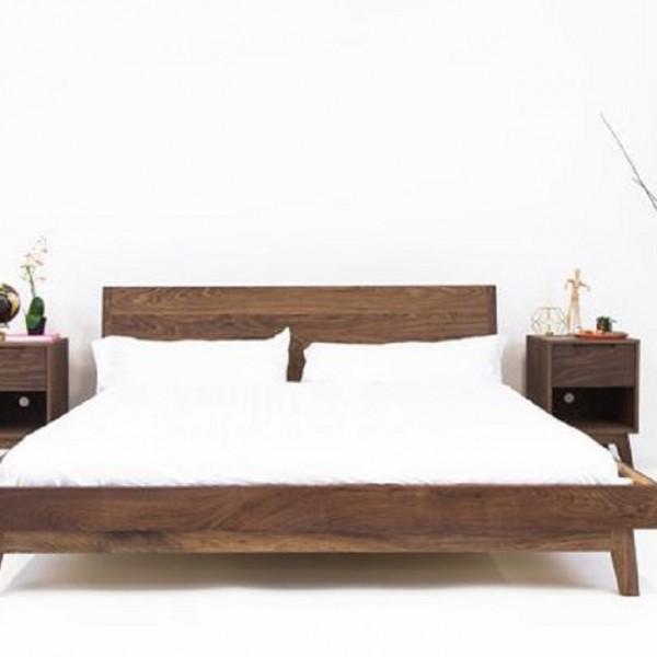 Teak Wood Bed Set