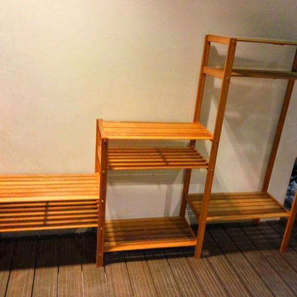 Wooden Balau Racks