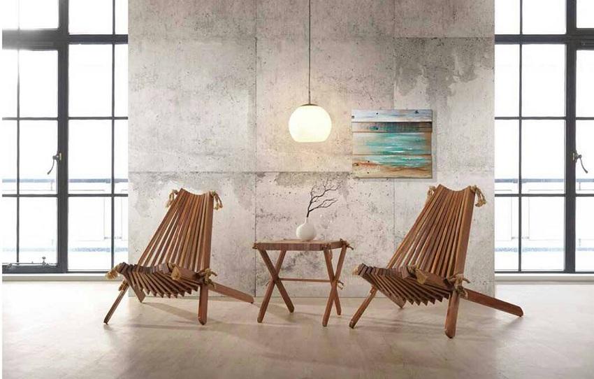 designer patio set, balau wood
