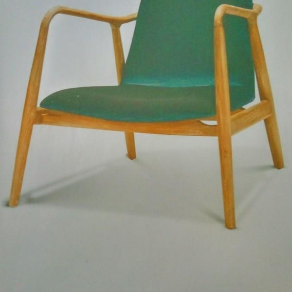 teak wood designer chair