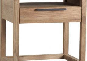 Teak Wood Side Table , JF-03