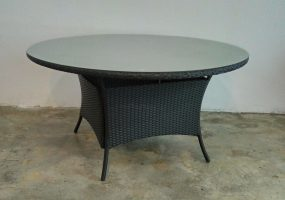 Wicker Round Table,  JHA-01TSK