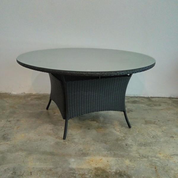 wicker table set