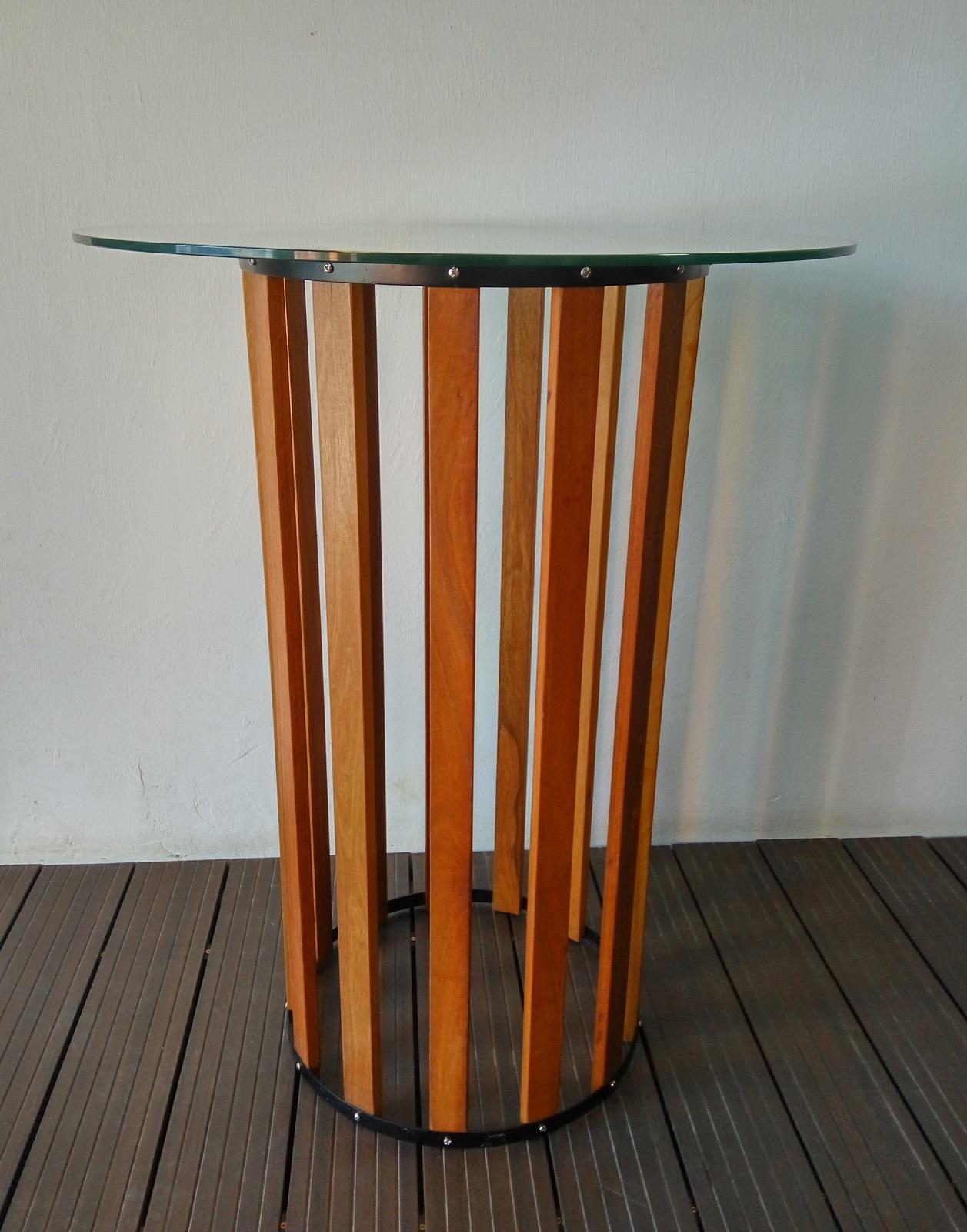Designer Bar Table, Balau Designer Bar Table, Bar Designer Table