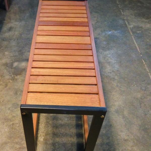 Balau Wooden Bench