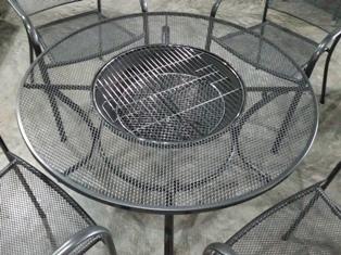 Fire Pit Dining Set
