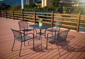 Powder Coated Dining Set, JHA-002A