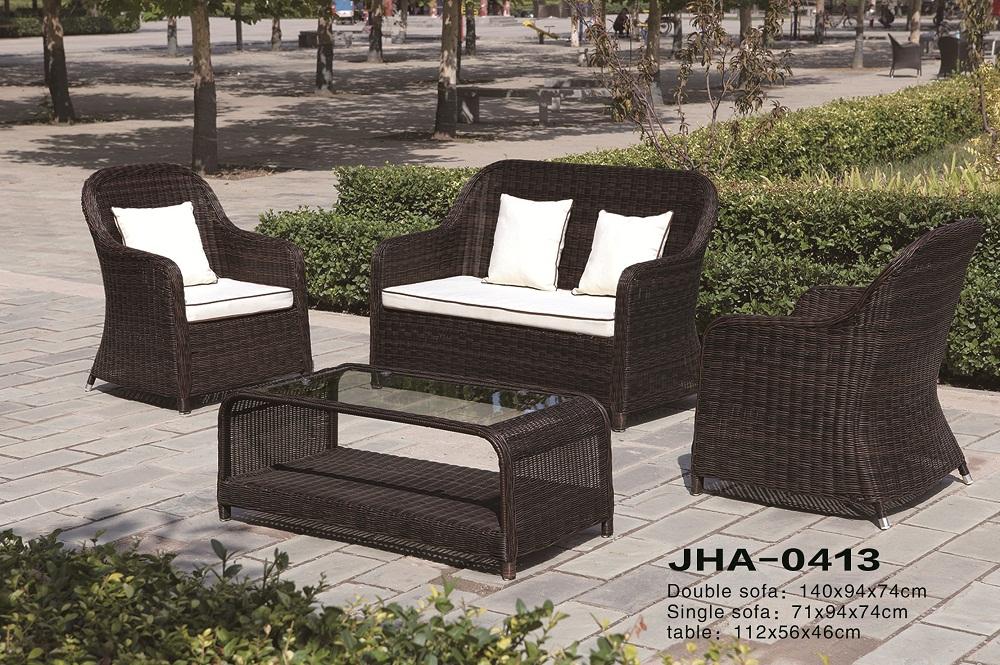 Rattan Design Sofa