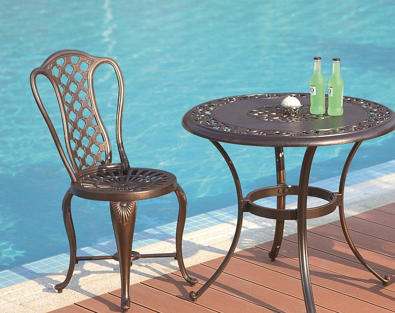 Cast Aluminum Patio Set