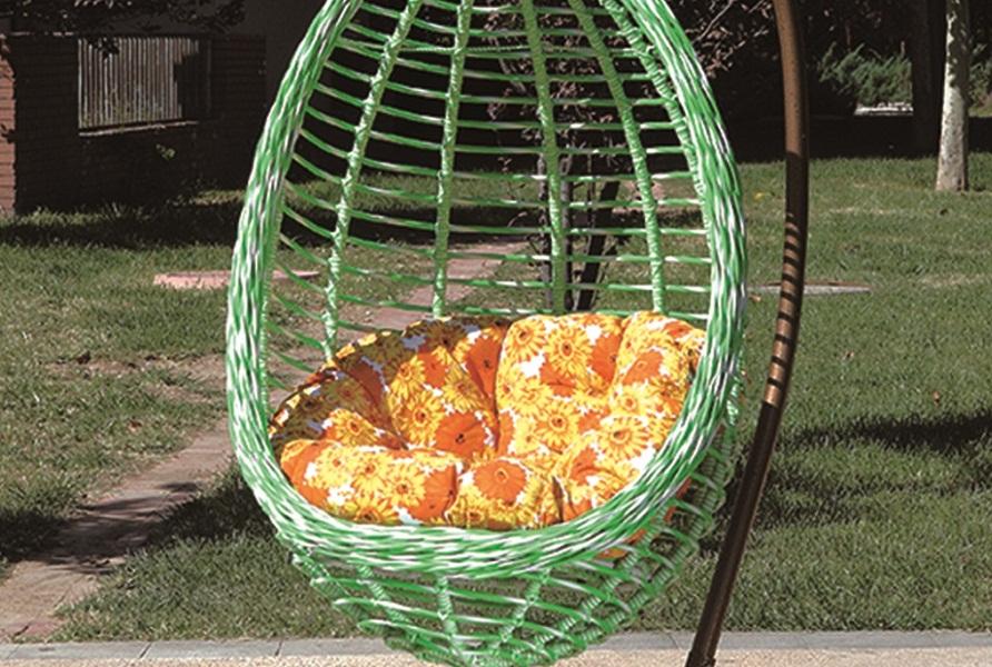 Bamboo pattern swing