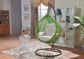 Bamboo Design Rattan Swing, JHA-178M