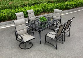 Metal Furniture Dining Set, JHA-323